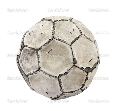 depositphotos 26745187 Old soccer ball with clipping path